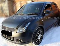 Дефлекторы окон на Suzuki Swift 5-дверка 2010-