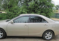 Дефлекторы окон на Тойота CAMRY седан 2002-2006