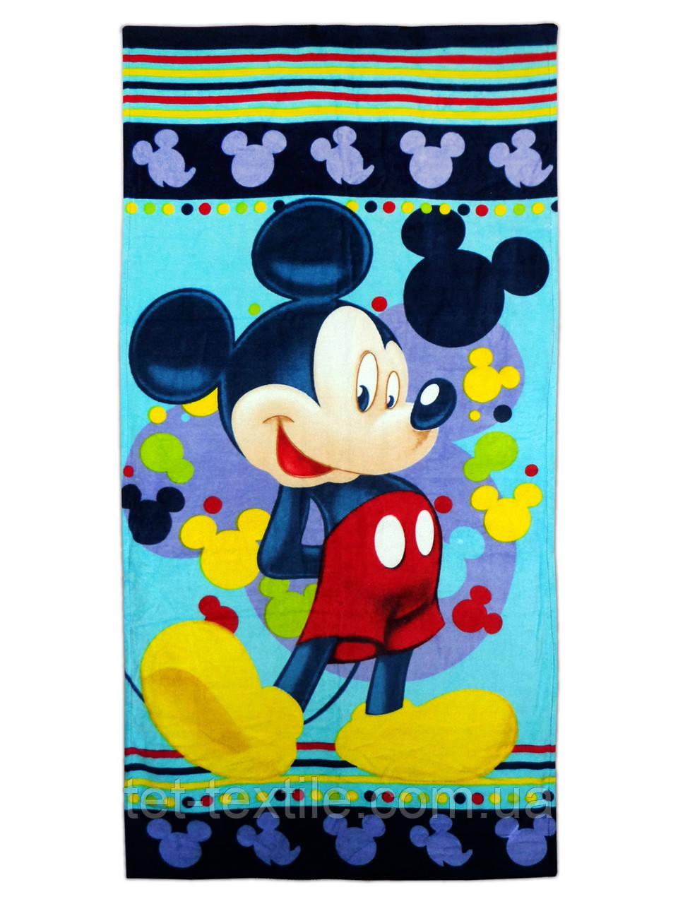 """Пляжное полотенце """"Микки Маус 2"""" 70х140см."""
