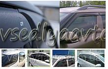 Дефлекторы окон на Volkswagen POLO 4 5-дверка 2004-2009