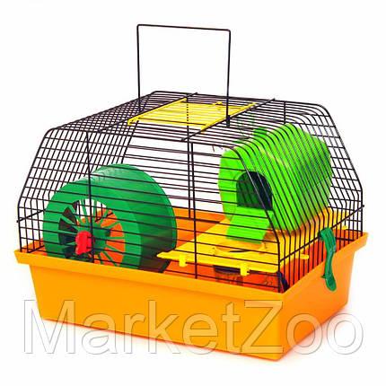Клетка для грызунов Лорі Вилла-1 Люкс  22.7 х 33.5 х 22.5 см, фото 2