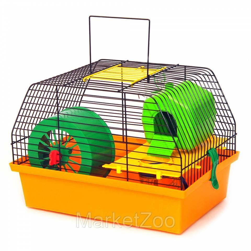 Клетка для грызунов Лорі Вилла-1 Люкс  22.7 х 33.5 х 22.5 см