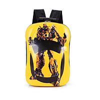 Детский рюкзак  жесткий с рисунком Трансформер, фото 1