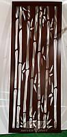 """Интерьерная перегородка """"Бамбук"""", декоративные панели, деревянные ширмы, резные экраны, фото 1"""