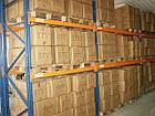 Паллетный приставной стеллаж H3500хL1800х1100 мм(пол.+2 уровня по 2000 кг на уровень), паллетное хранение, фото 6