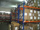 Паллетный приставной стеллаж H3500хL1800х1100 мм(пол.+2 уровня по 2000 кг на уровень), паллетное хранение, фото 7