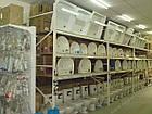 Паллетный приставной стеллаж H3500хL1800х1100 мм(пол.+2 уровня по 2000 кг на уровень), паллетное хранение, фото 8