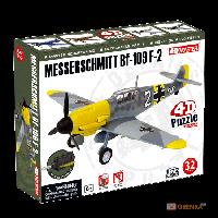 Объемный пазл 'Самолет BF-109 Messeschmitt F-2' (85122)