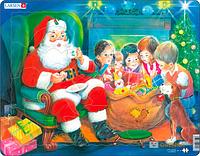 Пазл 'Дед Мороз с детьми' (123780)