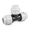 Тройник для труб PE, 32 / 25 / 32 мм, PN16, DSRA16T3225
