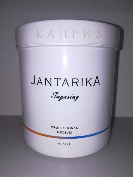 Сахарная паста для депиляции Янтарика Professional Medium (средняя) 1400 г