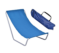 Пляжный шезлонг Olek (темно-синий ), фото 1