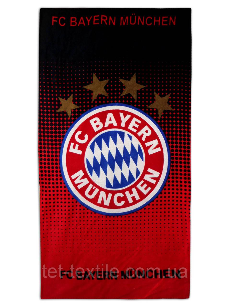 "Пляжное полотенце ""FC Bayern Munchen"" 70х140см."