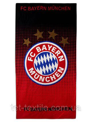 """Пляжное полотенце """"FC Bayern Munchen"""" 70х140см., фото 2"""