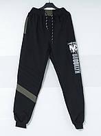 """Спортивные штаны подростковые для мальчиков """"Brooklyn"""" 9-12 лет, черного цвета"""