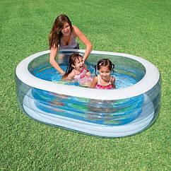 Дитячий басейн Intex Ніжність (57482) Інтекс для дітей, для сім'ї, для дачі