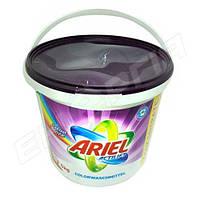 Порошок стиральный Ariel сыпучий, ведро 5кг COLOR