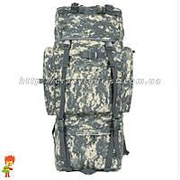 Рюкзак тактический, милитари, штурмовой 70 л с железной дугой ACU, фото 1