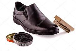 Краска для обуви из гладкой кожи