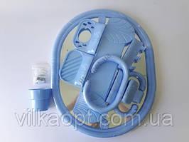 """Зеркало в ванную комнату в пластмассовой рамке 6065 """"Синди"""" (55*44,5 cm.)"""