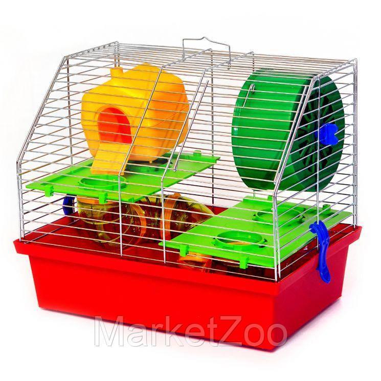 Клетка для грызунов Лорі Вилла-2 Люкс.Размер 28.2 х 33.5 х 22.5 см