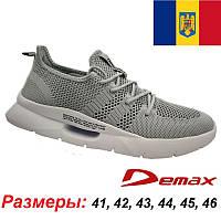 Фирменные мужские кроссовки DEMAX (оригинал) Румыния. Летняя модель, сетка.