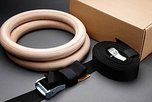 Кольца гимнастические  серия PRO для кроссфита Sport Gear Studio