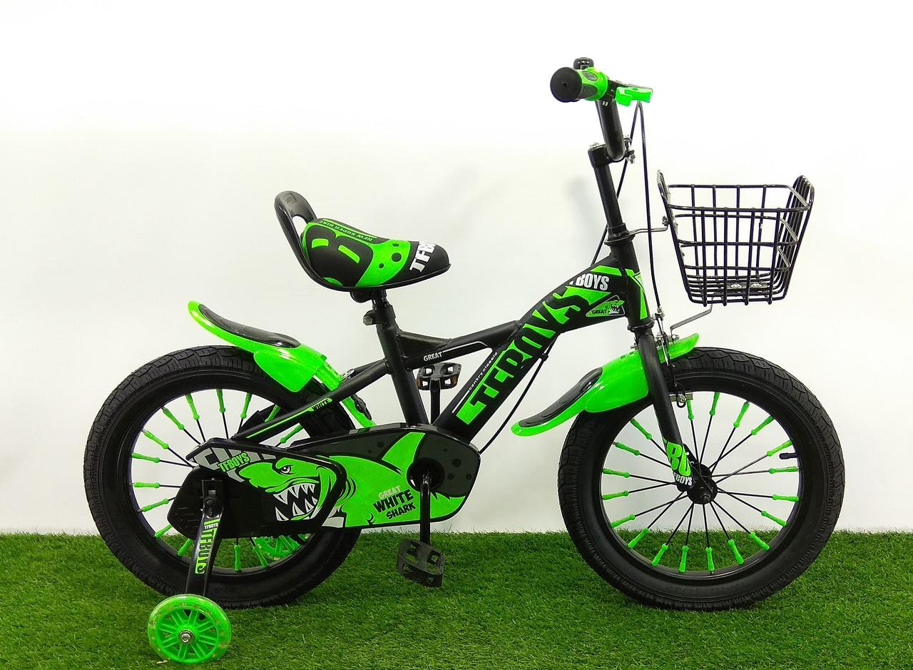 """Детский велосипед 605 16"""""""