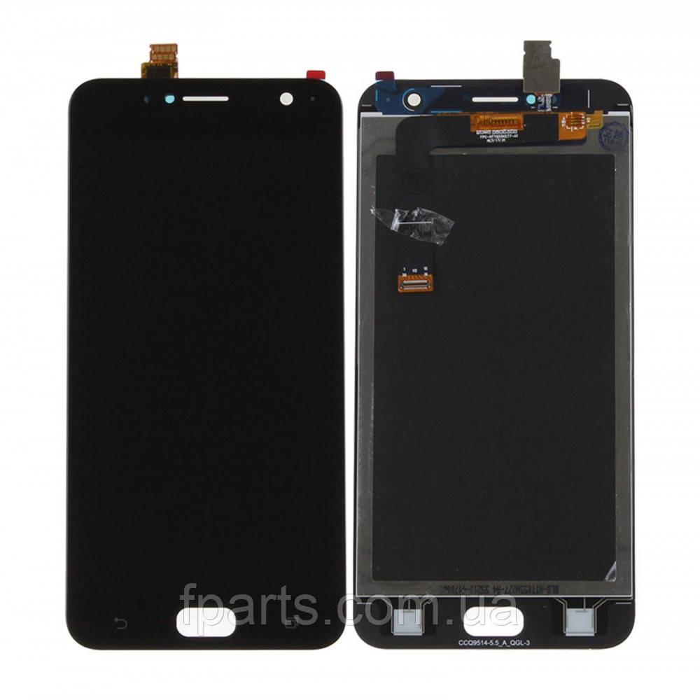 Дисплей для Asus ZenFone Live (ZB553KL) с тачскрином, Black