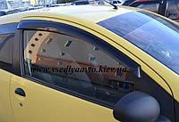 Дефлекторы окон на PEUGEOT 107 3-дверка 2005-