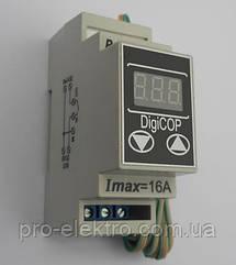 Терморегулятор МТР-2 (цифровий) двох пороговий чотирьох режимний 16А DIN DigiCop Харків (10-45)