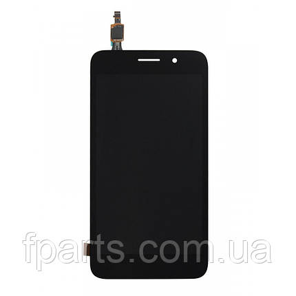 Дисплей для Huawei Y3 2017 (CRO-U00) с тачскрином, Black, фото 2