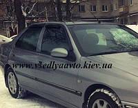 Дефлекторы окон на Peugeot 406 седан 1995-2000