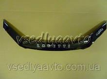 Дефлектор капота мухобойка Chevrolet Lacetti с 2003 г.в. х/б