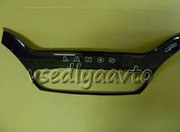 Дефлектор капота мухобойка Chevrolet Lanos  с 2005 г.в. ( с решеткой радиатора)