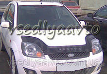 Дефлектор капота мухобойка FORD Fiesta с 2002-2008 г.в.
