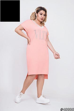 Платье женское летнее, размер:48-50,52-54, 56-58, фото 2