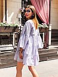 Женское легкое хлопковое платье свободного кроя (в расцветках), фото 3