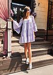 Женское легкое хлопковое платье свободного кроя (в расцветках), фото 4