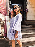 Женское легкое хлопковое платье свободного кроя (в расцветках), фото 5