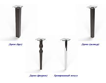 Стіл кухонний скляний Малевич, ніжки хром 91х61 *Еко (БЦ-стіл ТМ), фото 3