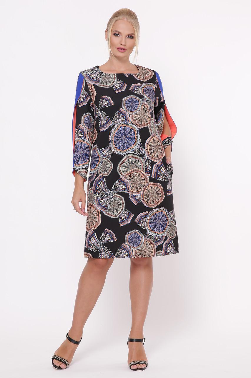 Платье Нэнси абстракция