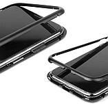 Металлический магнитный чехол Primo для Apple iPhone X / Xs - Clear, фото 4