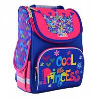 Ранец (рюкзак) - каркасный школьныйдля девочки розовый - Крутая Принцесса, PG-11 Smart 555906