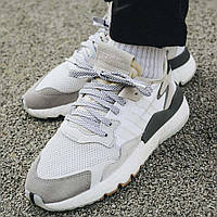 Кроссовки Adidas Originals Nite Jogger Boost 'White/Grey', фото 1