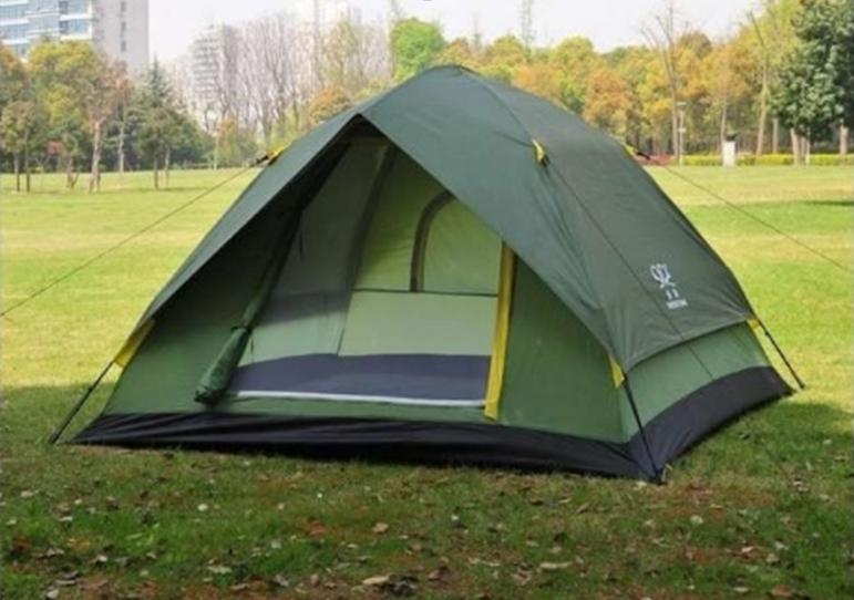 Туристическая 8 - местная палатка Палатка восьмиместная Палатка для кемпинга Палатка для отдыха на природе