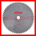 Сталевий диск 56 зубий STIHL 255мм по траві для мотокоси і бензокоси, фото 2