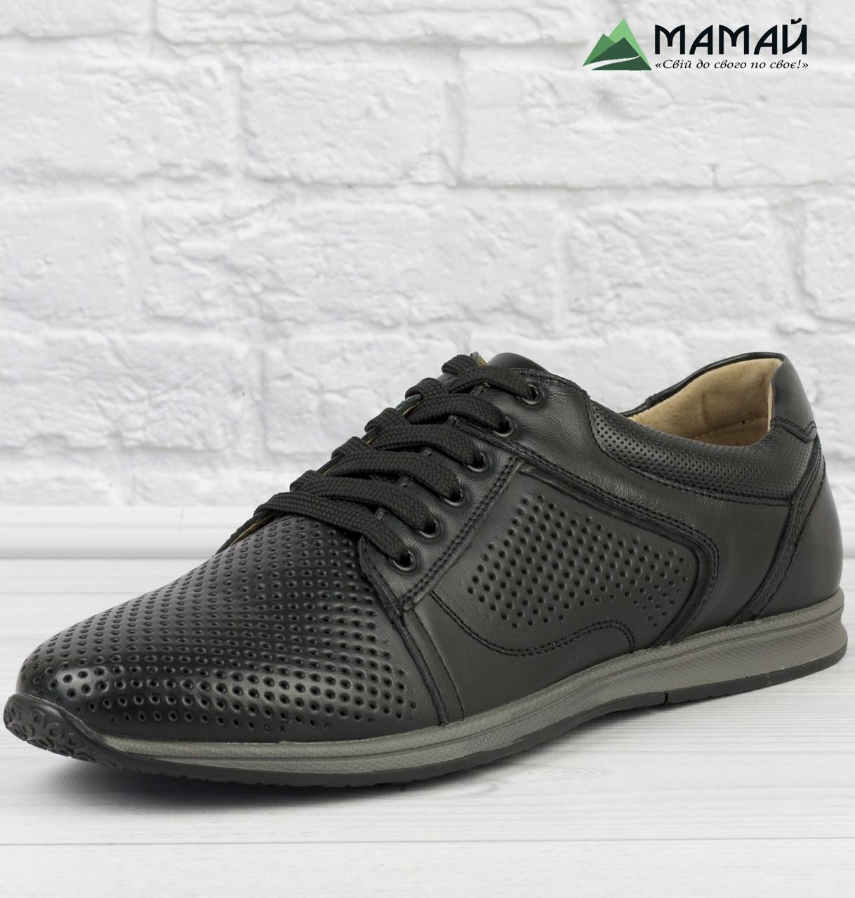 ab125169ec40f4 Шкіряні чоловічі туфлі на літо - Інтернет-магазин дешевого взуття в Львове