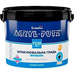 Акриловая финишная шпаклевка Sniezka Acryl-Putz 1,5кг