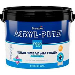 Акриловая финишная шпаклевка Sniezka Acryl-Putz 5кг